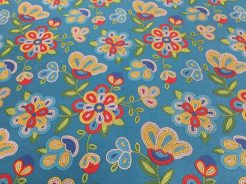Tucson Floral -Turquoise