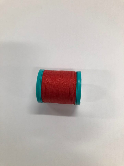 Dual Duty Button & Craft thread -Red