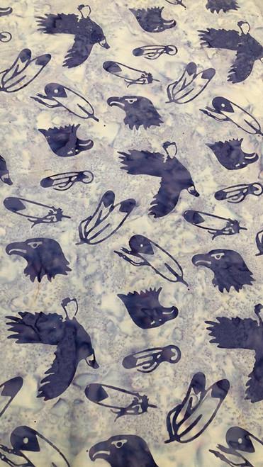 Eagle & Feathers -Lavender