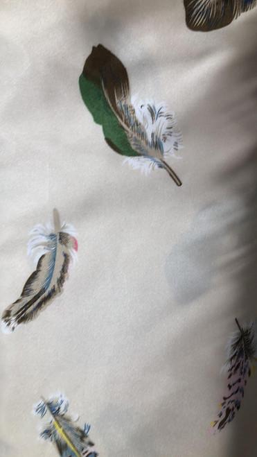 Satin Feathers -Cream