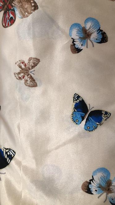 Satin Butterflies -Ivory