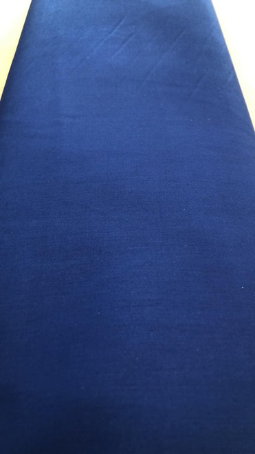 Solid Cotton Blend -Royal Blue