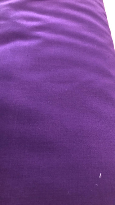 Solid Cotton Blend -Royal Purple