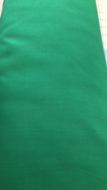 Solid Cotton Blend -Green