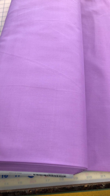 Solid Cotton Blend -Lavender