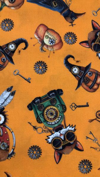 Steampunk Halloween -Orange