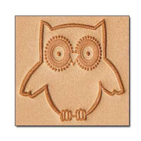 Owl 3D Stamp