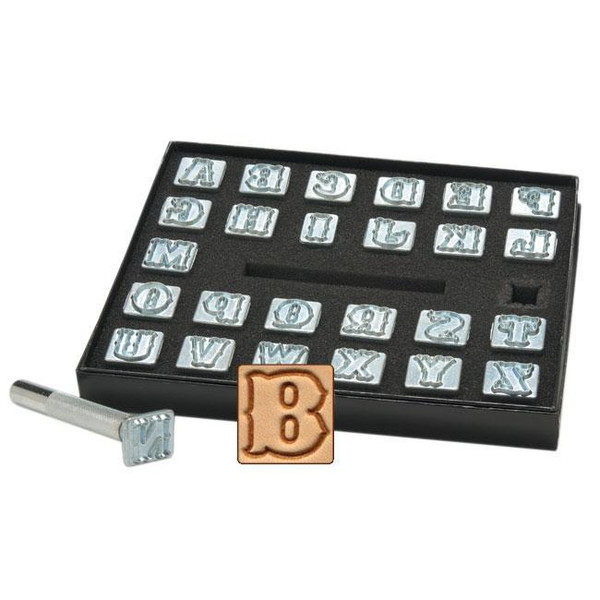 "1/2 ""  Alphabet Stamp Set"