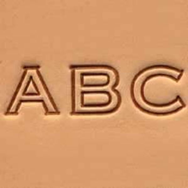"1/2"" Alphabet Stamp Set"
