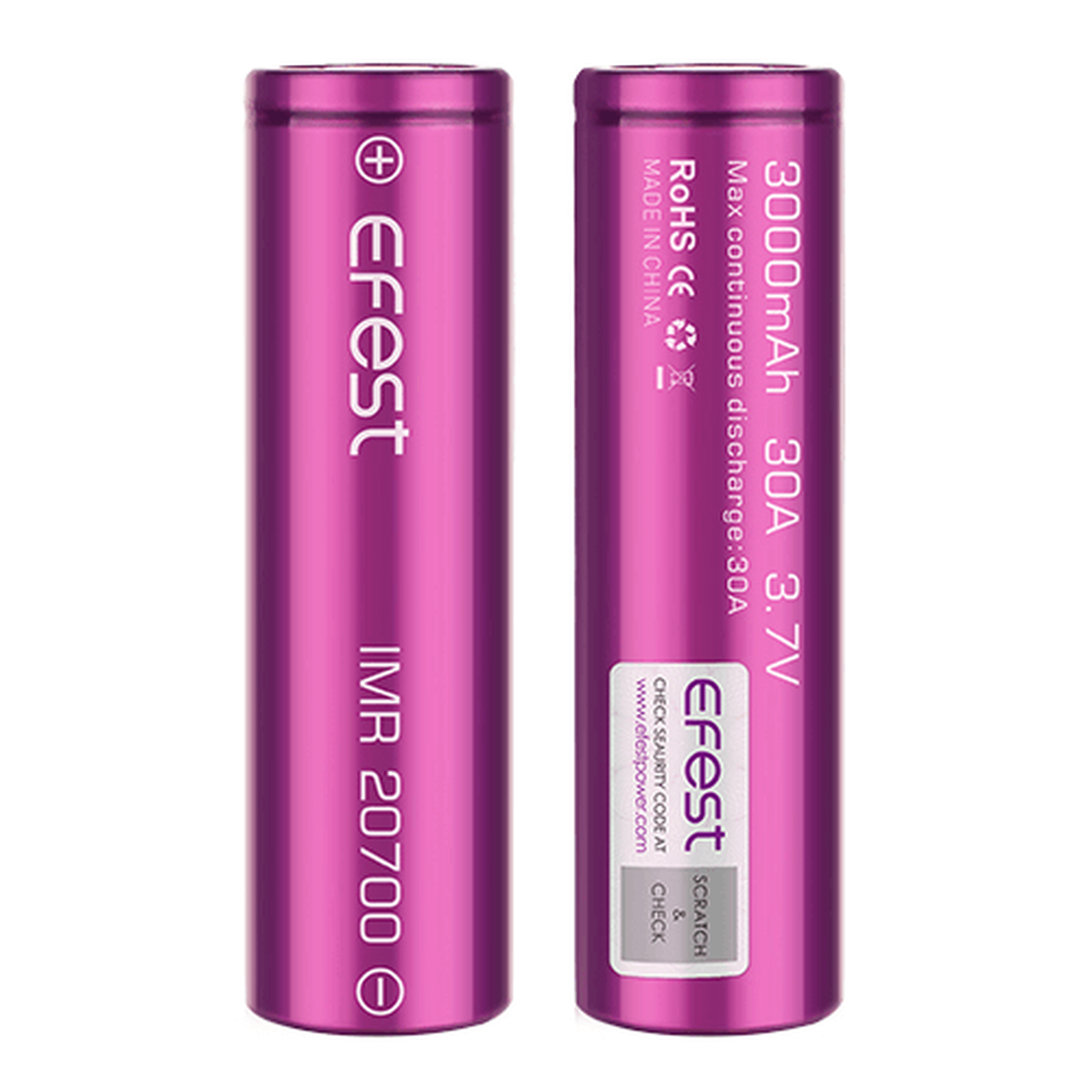 Efest IMR Battery - Mooch-Approved