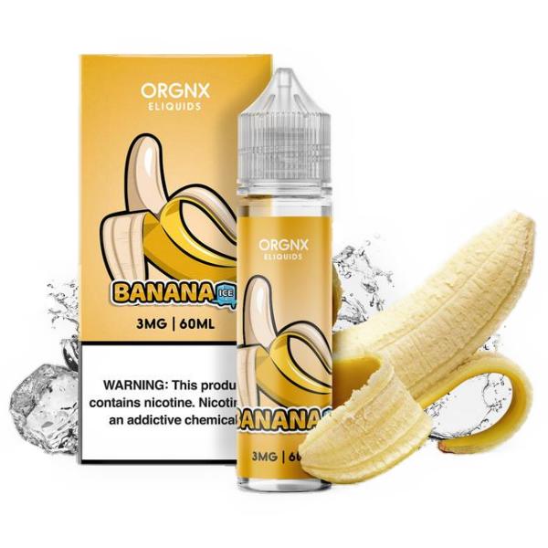 Orgnx Eliquid - Banana Ice 60ml