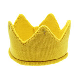 Knit Golden Crown