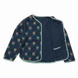 Organic Reversible Rainbow Lion Jacket