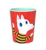 Red Wolf and Dog Cup