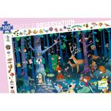 The Enchanted Forest Observation Puzzle