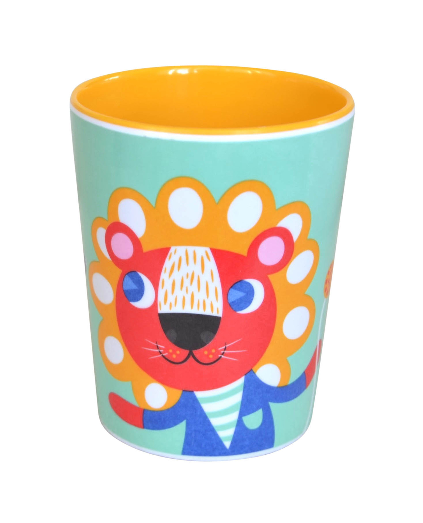 Mint Lion and Tiger Cup
