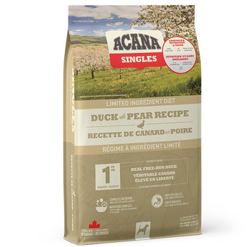 Non-GMO Limited Ingredient Free-Run Duck with Pear Dry Dog Food