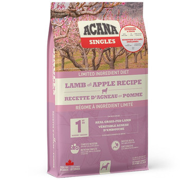 Non-GMO Limited Ingredient Grass-Fed Lamb with Apple Dry Dog Food