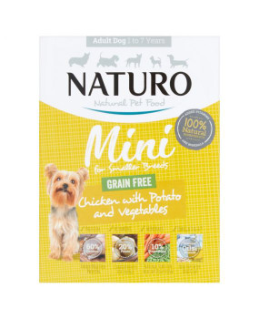 Chicken with Potato & Vegetables Wet Dog Food Meal Boxes for Small Breed Adult Dogs, 150g, Case of 7