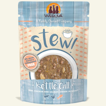 Kettle Call with Beef, Chicken & Salmon in Gravy Wet Cat Food Pouch