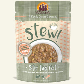 Stir the Pot with Lamb, Chicken & Salmon in Gravy Wet Cat Food Pouch