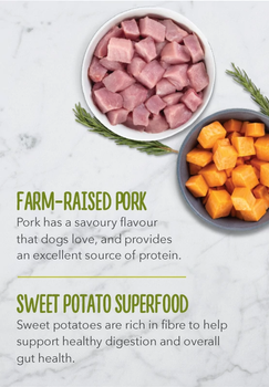 Farm-Raised Pork Liver & Sweet Potato Limited Ingredient High Protein Biscuits