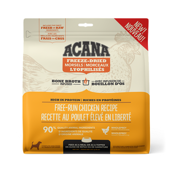 Free-Run Chicken & Herring Freeze-Dried Bone Broth Infused High Protein Morsels