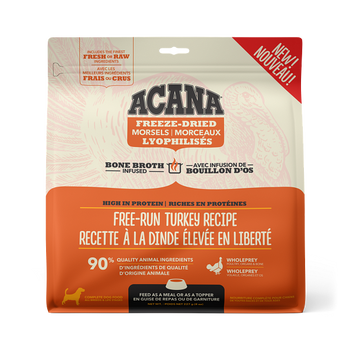 Free-Run Turkey & Herring Freeze-Dried Bone Broth Infused High Protein Morsels