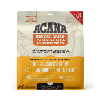 Free-Run Chicken & Herring Freeze-Dried Bone Broth Infused High Protein Patties