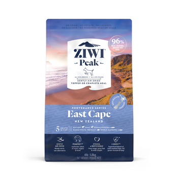 Air-Dried East Cape Recipe with Mutton, Goat and Whole Kahawai from New Zealand for Dogs