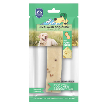 Peanut Butter Flavoured Himalayan Hard Cheese Dog Chew