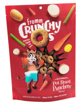 Crunchy O's  Pot Roast Punchers with Beef, Oats, Potatoes & Veggies Dog Treats