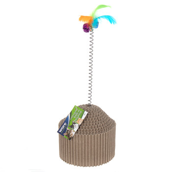 Corrugated Bat-N-Bounce Cat Toy