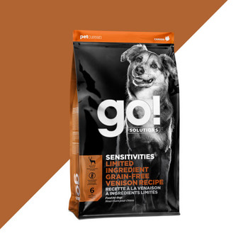 SENSITIVITIES Limited Ingredient Venison Grain Free Dry Food For Dogs