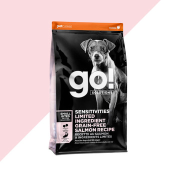 SENSITIVITIES Limited Ingredient Salmon Grain Free Small Bites Dry Food For Dogs
