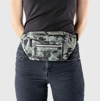 The Everything Fanny Pack for Training with Poop Bag Dispenser & Key Ring Holder