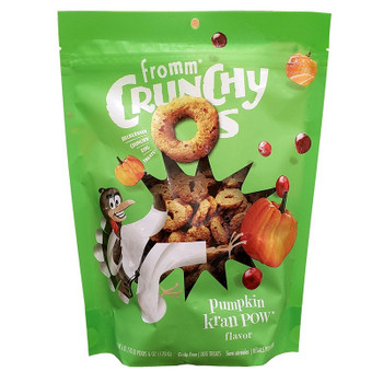 FREE WITH ANY FROMM DRY FOOD PURCHASE - Crunchy O's Grain-Free Dog Treats