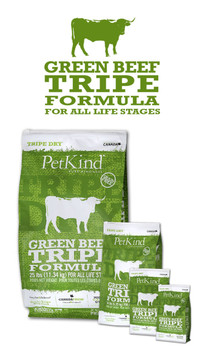 Green Beef Tripe Dry Dog Food