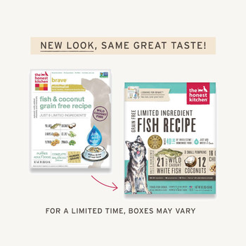 Grain Free Fish Limited Ingredient Dehydrated Dog Food (Brave)