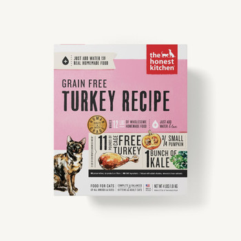 Turkey (Grace) Dehydrated Cat Food