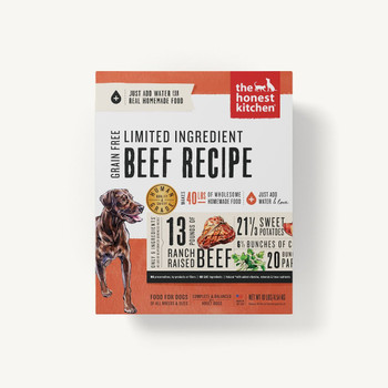 Beef & Chickpea (Hope) Limited Ingredient Dehydrated Dog Food