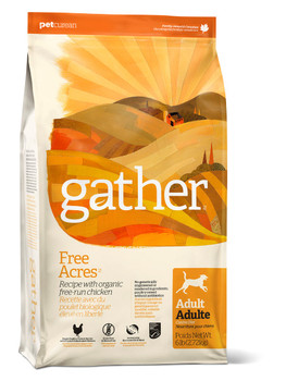 GATHER FREE ACRES ORGANIC FREE-RUN CHICKEN DRY DOG FOOD