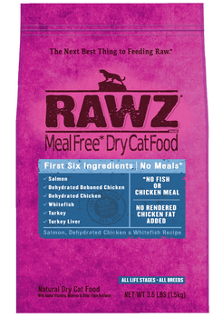Salmon, Dehydrated Chicken & Whitefish Dry Cat Food