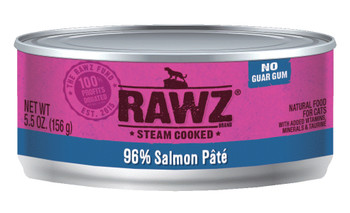 96% Salmon Canned Cat Food Pâté, 5.5oz, Case of 24