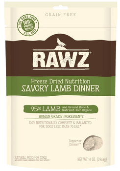 Savory Lamb Freeze-Dried Dog Food