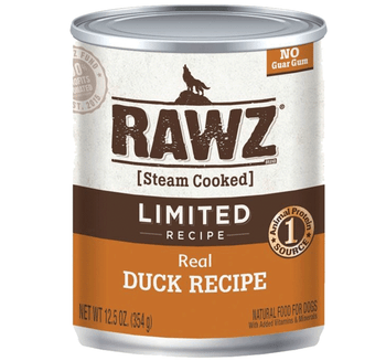 Limited Ingredient Steam Cooked Real Duck Canned Dog Food, 12.5oz, Case of 12