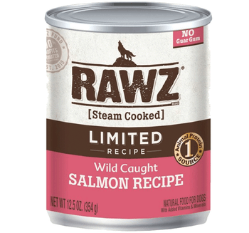 Limited Ingredient Steam Cooked Wild Caught Salmon Canned Dog Food, 12.5oz, Case of 12