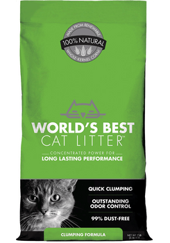 Corn-Based Single Cat Clumping Litter