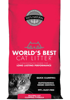 Corn-Based MultiCat Clumping Litter
