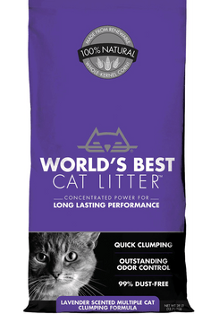Corn-Based Lavender Scented MultiCat Clumping Litter
